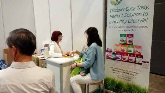 Bioglan Superfoods Event & Nutrients Health Analysis at Health & You exhibition July 2015