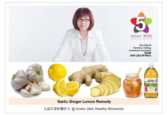 Garlic Ginger Lemon Remedy