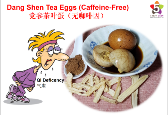 Dang Shen Tea Eggs (Caffeine-Free)
