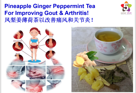 Pineapple Ginger Peppermint Tea